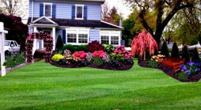 Landscaping Ranch Homes Futuu Ideas Front Yard Flower