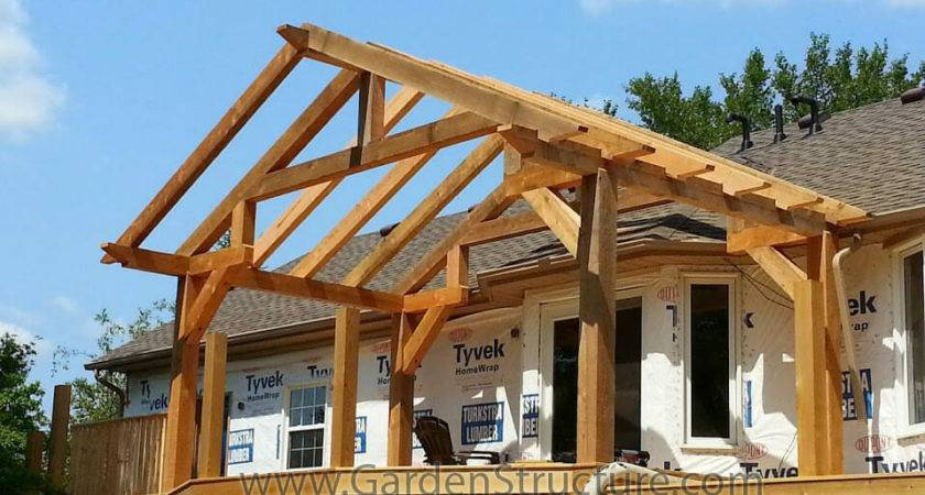 Large Roofed Decks Hamilton Deck Roof