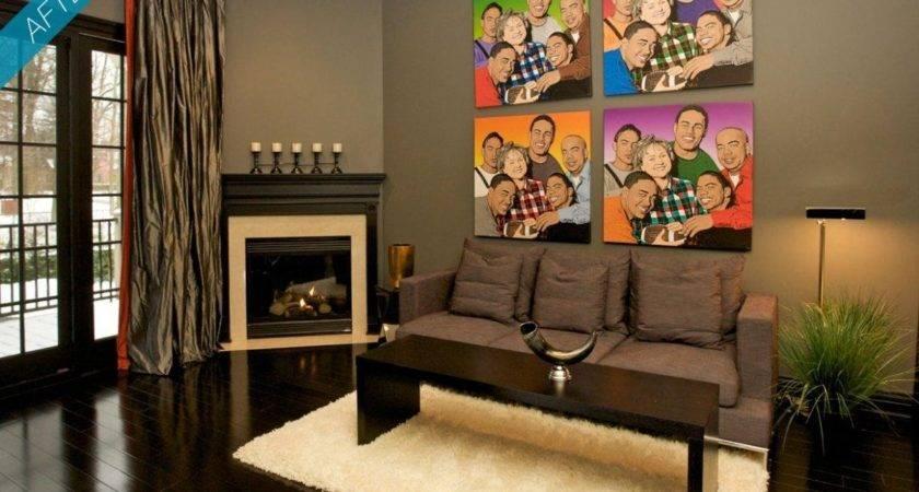 Latest Wall Art Bachelor Pad Living Room