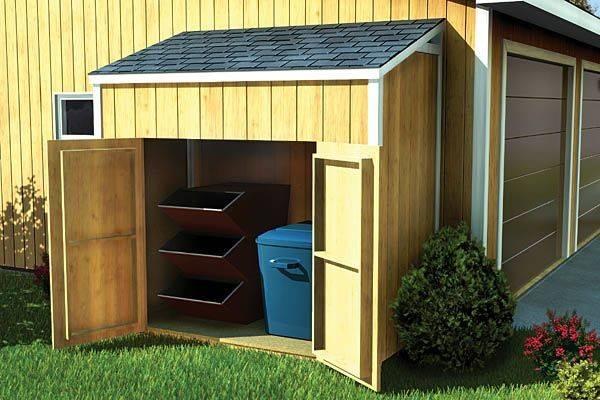 Lean Garden Sheds Pinterest Storage