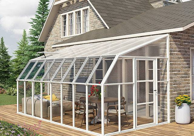 Lean Sunroom Kit Greenwall Solutions Inc