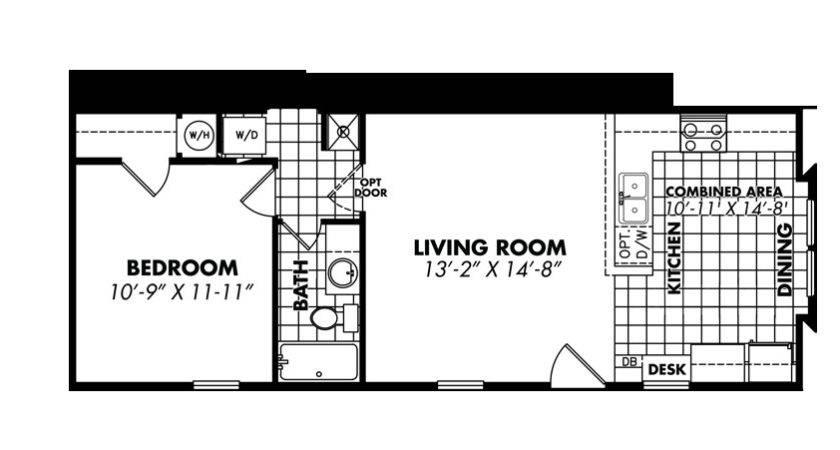 Less Sfkb Bedroom Single Wide Legacy Tiny