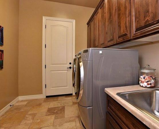 Light Brown Laundry Room Tile Ideas Flooring