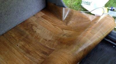 Linoleum Wood Grain
