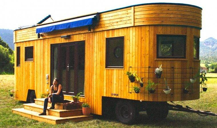 Live Off Grid Travel Beautiful Tiny Home Caravan