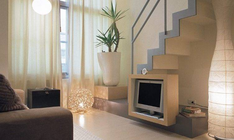 Living Room Designs Small Houses Stairs