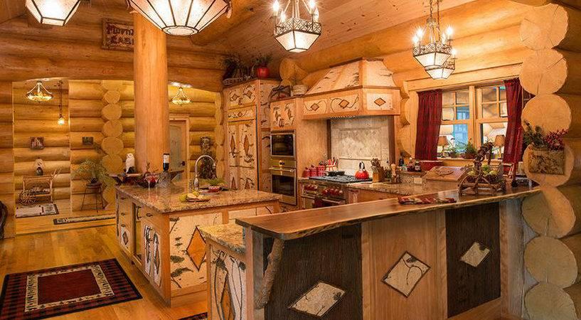 Log Cabin Decor Ideas Woodsy Retreat