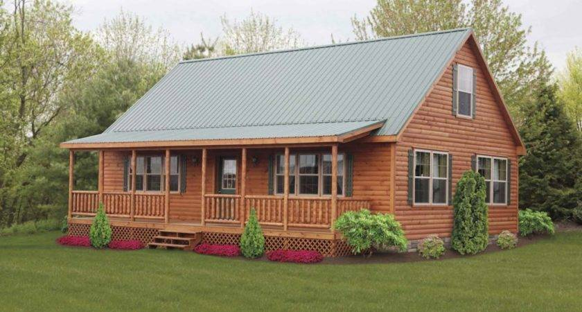 Log Cabin Style Mobile Homes Cavareno Home Improvment