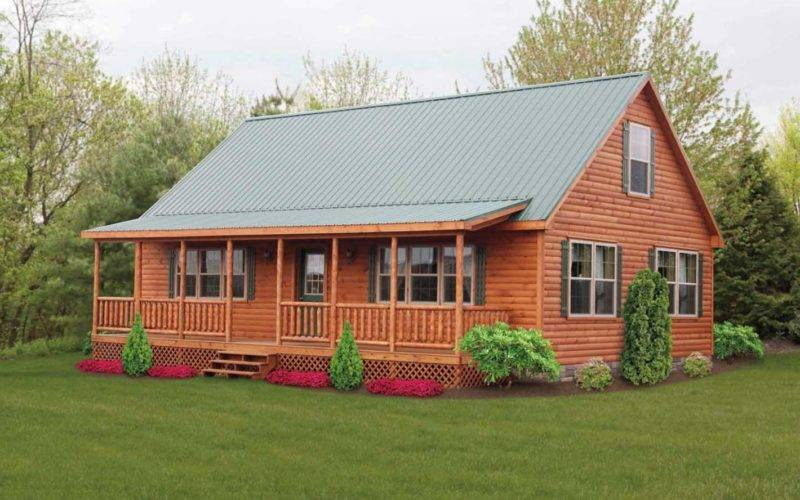 Log Cabin Style Mobile Modular Homes Ideas Home