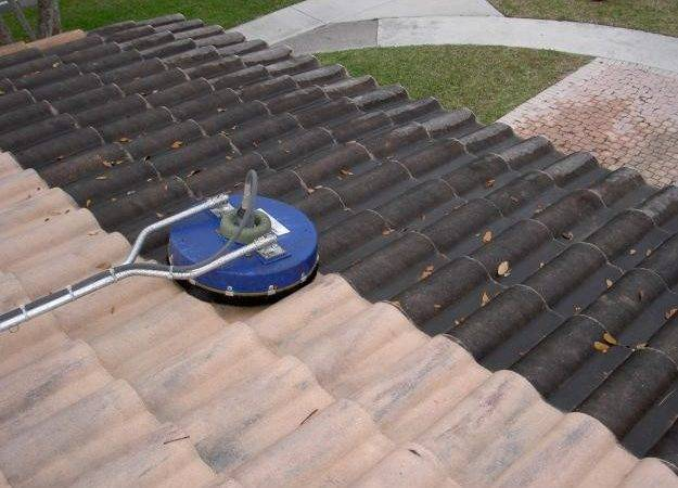 Low Pressure Roof Cleaning Services