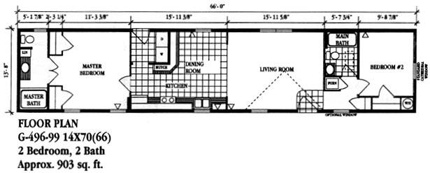 Luxury Homes Single Wide Mobile Double