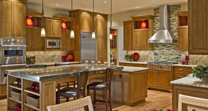 Luxury Kitchen Country House Design Modern Style