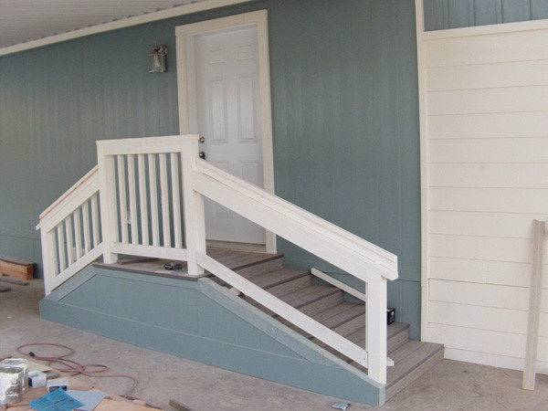 Main Stair Street Front Mobile Homes Club