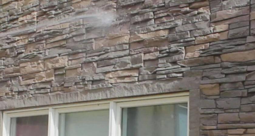 Maintain Faux Stone Panels Genstone