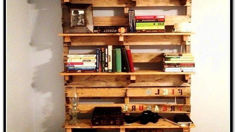 Make Bookcase Out Pallets Home Design Ideas