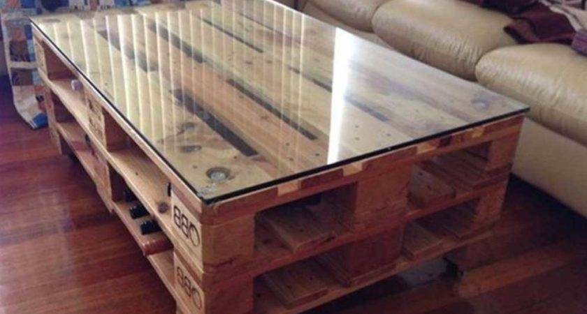 Make Furniture Out Wood Pallets Home Interior