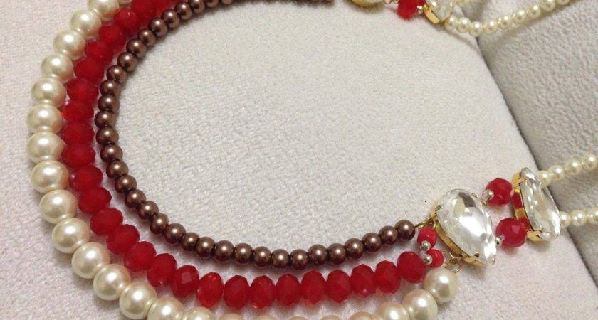 Make Necklace Diy Beaded Pearl Jewelry