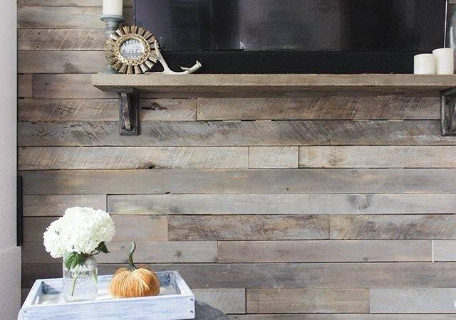 Make Pallet Wall Upcycle
