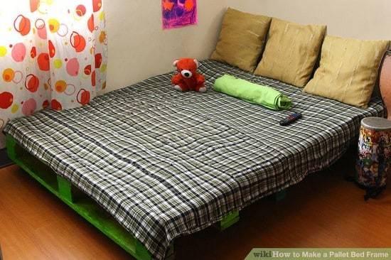 Make Wood Pallet Bed Diy Ideas Tips