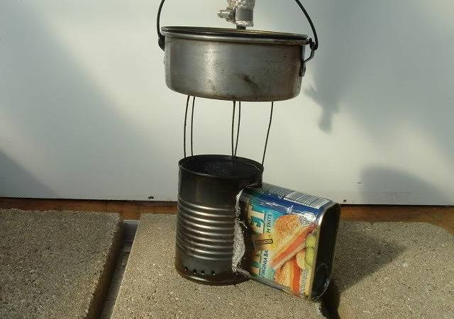 Make Your Own Gear Volcano Wood Stove Backpackers