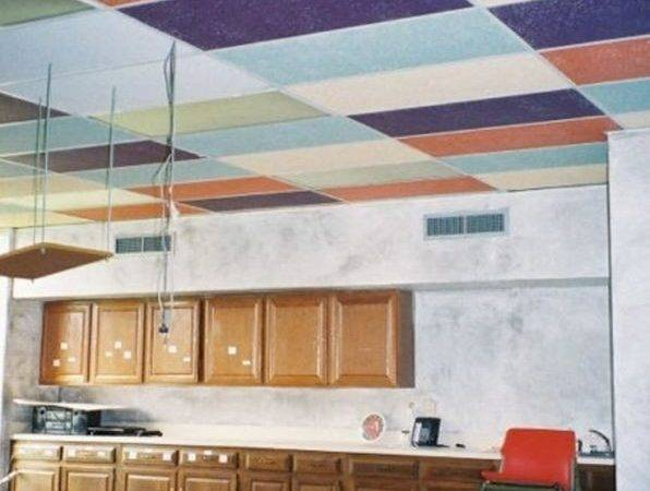 Makeover Drop Ceiling Tiles Can