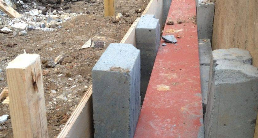 Mallow House Extension Steel Ring Beam Foundations