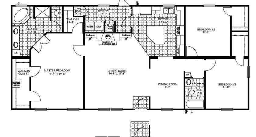 Manufactured Home Floor Plan Clayton Jamestown