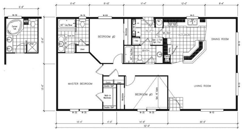 Manufactured Home Plans Smalltowndjs
