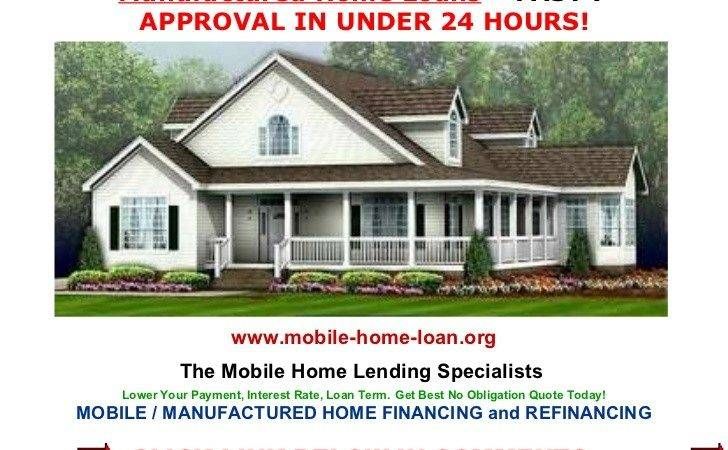 Manufactured Homes Financing Home Loan Factory