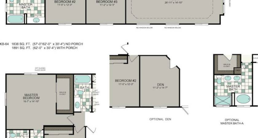 Manufactured Homes Floor Plans Silvercrest