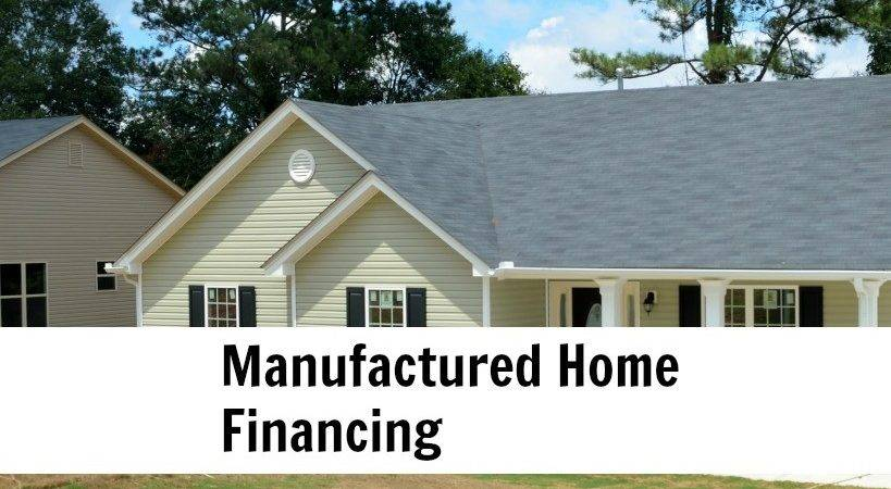 Manufactured Housing Loans Mobile