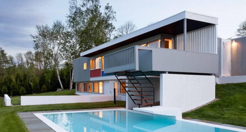 Marcel Breuer Stillman House Calder Mural