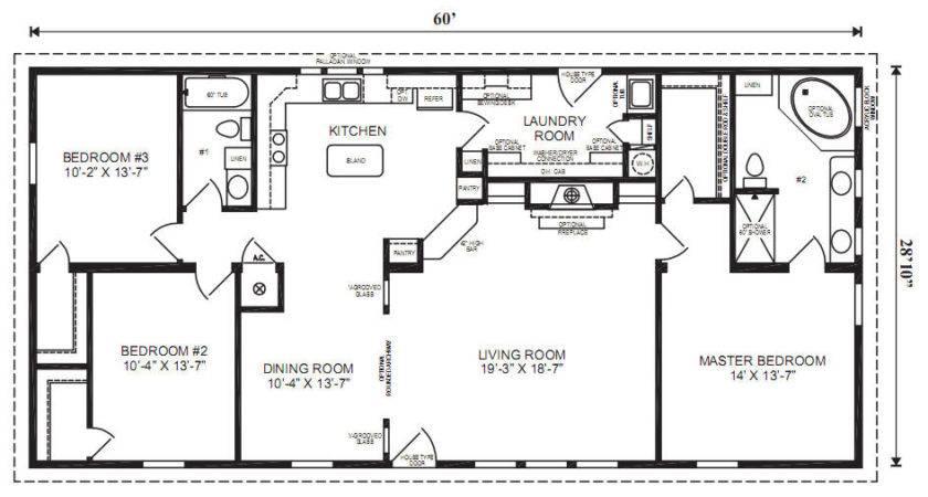 Margate Modular Home Floor Plan Jacobsen Homes