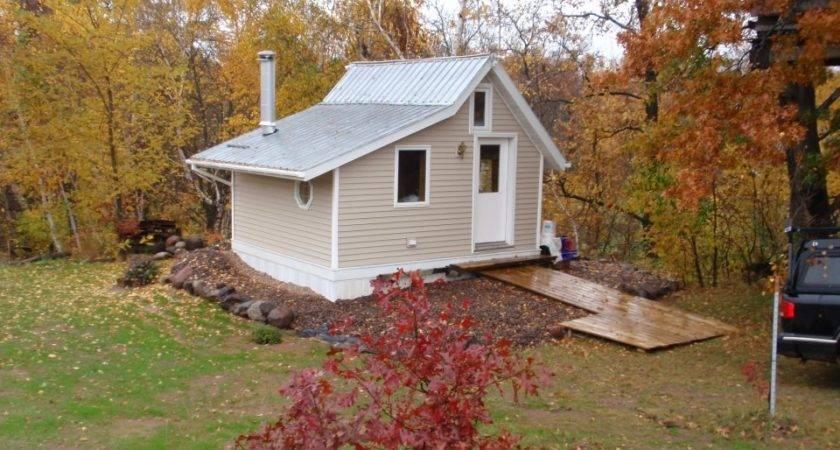 Mark Little Cabin Near Small River