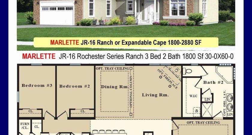 Marlette Modular Home Floor Plans