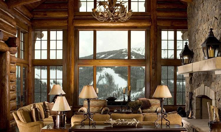 Marvelous Lodge Cabin Home Decor Decorating Ideas