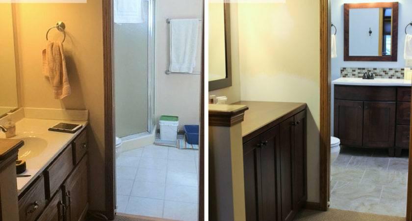 Master Bathroom Remodels Before After Interior Design