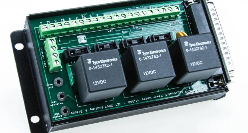 Megasquirt Relay Board Assembled Unit