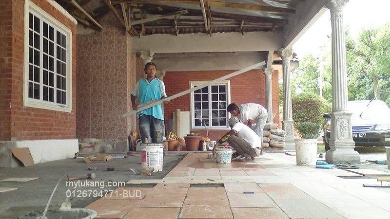 Membekal Dan Memasang Tiles Kelana Jaya