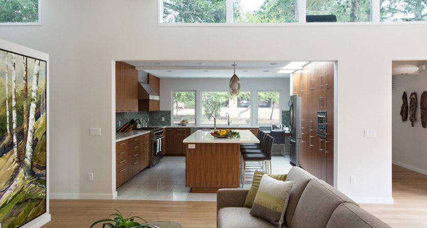 Mid Century House Remodel Project Klopf Architecture