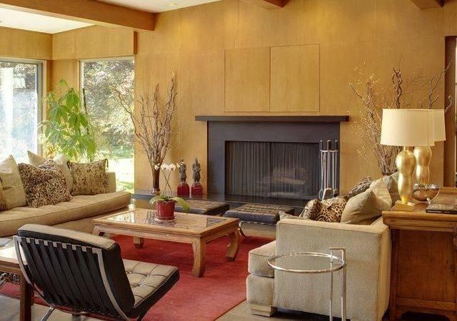 Mid Century Modern Home Interior Design House Plans