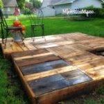 Minettesmaze Diy Pallet Deck
