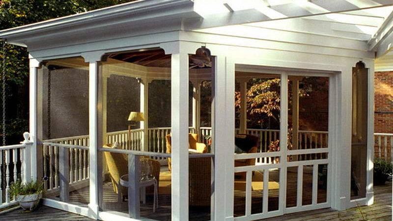 Miscellaneous Screened Porch Ideas Interior