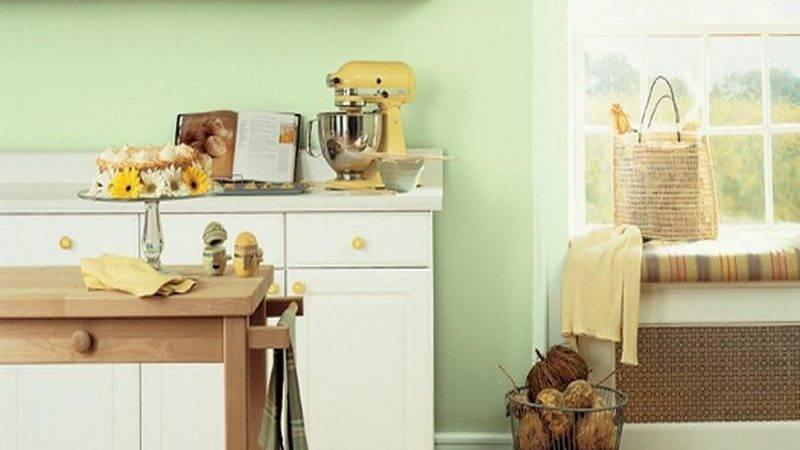 Miscellaneous Small Kitchen Colors Ideas Interior