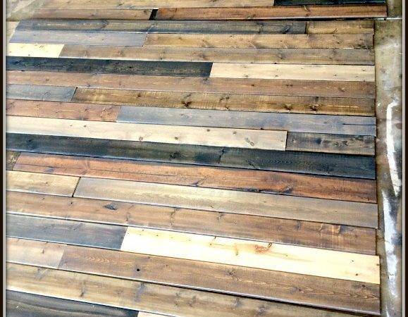 Mixed Wood Wall Easy Cheap Diy Uncookie Cutter