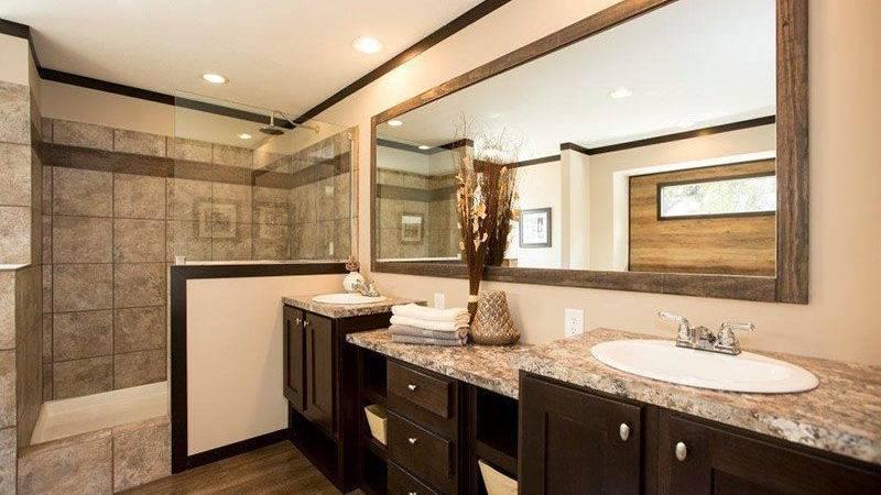 Mobile Home Bathroom Vanity Double