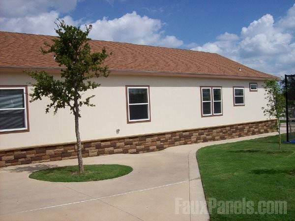 Mobile Home Designs Renovation Photos Faux Skirting