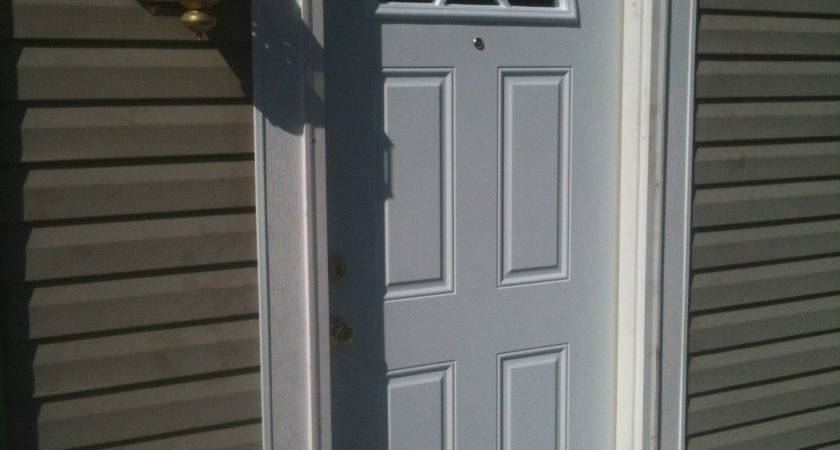 Mobile Home Front Door Replacement Photos Back