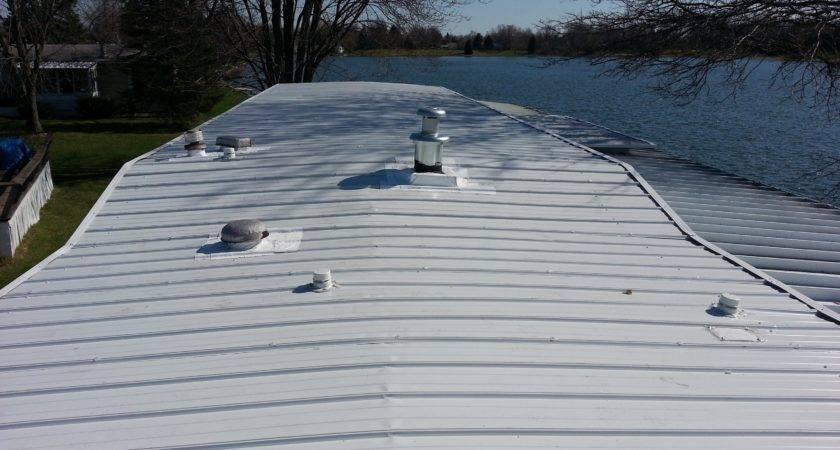 Mobile Home Metal Roof Sealant