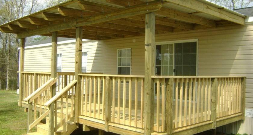 Mobile Home Porch Roof Ideas Joy Studio Design